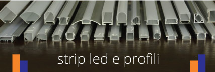 strip led e profili
